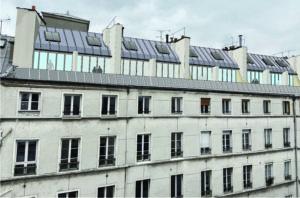 Surélévation d'un immeuble, Paris 11, Oberkampf