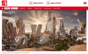 04 décembre 2020                 RFI les villes nouvelles en Afrique